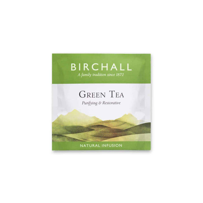 Birchall Tea in Enveloped Prism Bags 200pcs - Green Tea