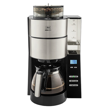 Melitta AromaFresh Grind & Brew Filter Coffee Machine (with Detachable Tank)