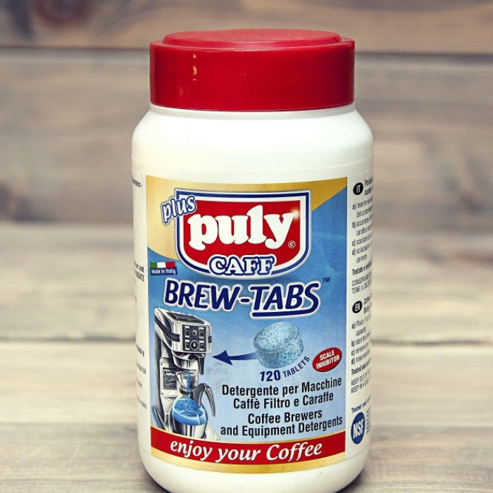Puly Caff  Brew Tabs - Filter Coffee Machine Cleaning Tablets 4g x 120tablets