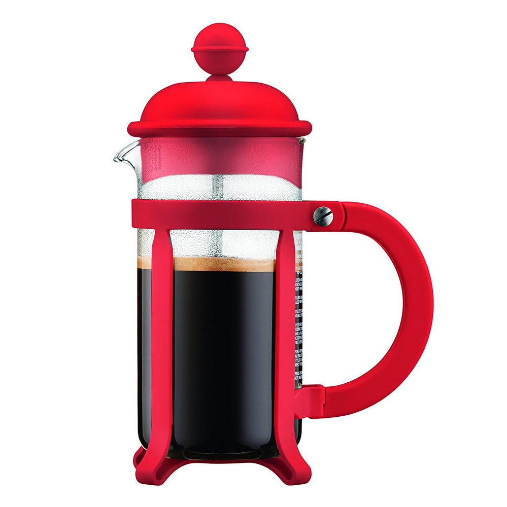 Bodum Java 8 cup, 1 L French Press / Cafetiere - Red