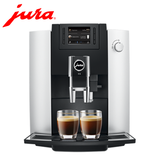Jura E6 Platinum Bean to Cup Coffee Machine