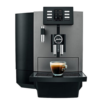 Jura X6 Coffee Machine - Dark Inox