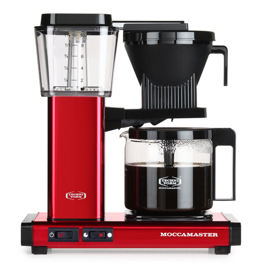 Moccamaster KBG 741 AO Filter Coffee Machine - Red Metallic