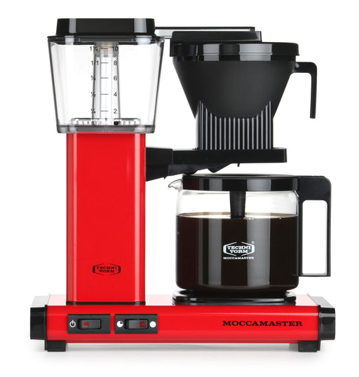 Moccamaster KBG 741 AO Filter Coffee Machine - Red