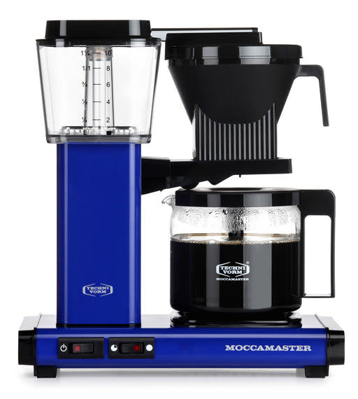 Moccamaster KBG 741 AO Filter Coffee Machine - Royal Blue