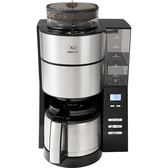 Melitta AromaFresh Grind & Brew Therm Filter Coffee Machine (with Detachable Tank)
