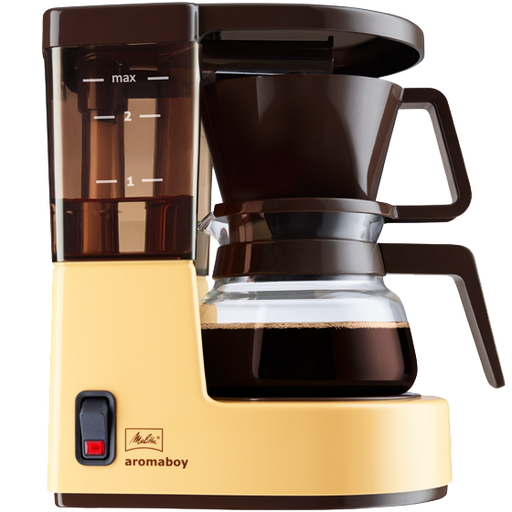 Melitta Aromaboy Filter Coffee Machine - Beige with FREE Coffee