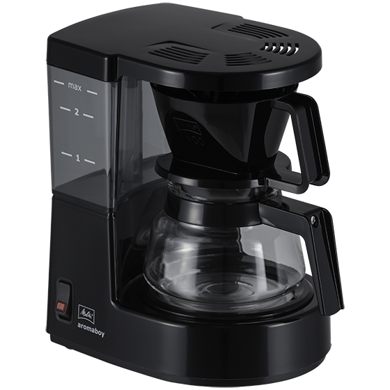 Melitta Aromaboy Filter Coffee Machine - Black