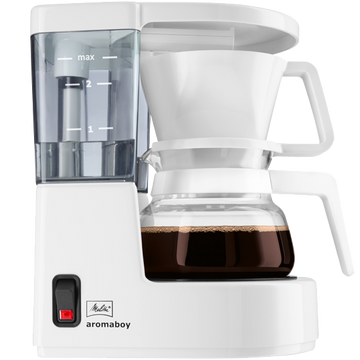 Melitta Aromaboy Filter Coffee Machine - White