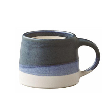 Kinto 4oz Porcelain Mug - Navy & White