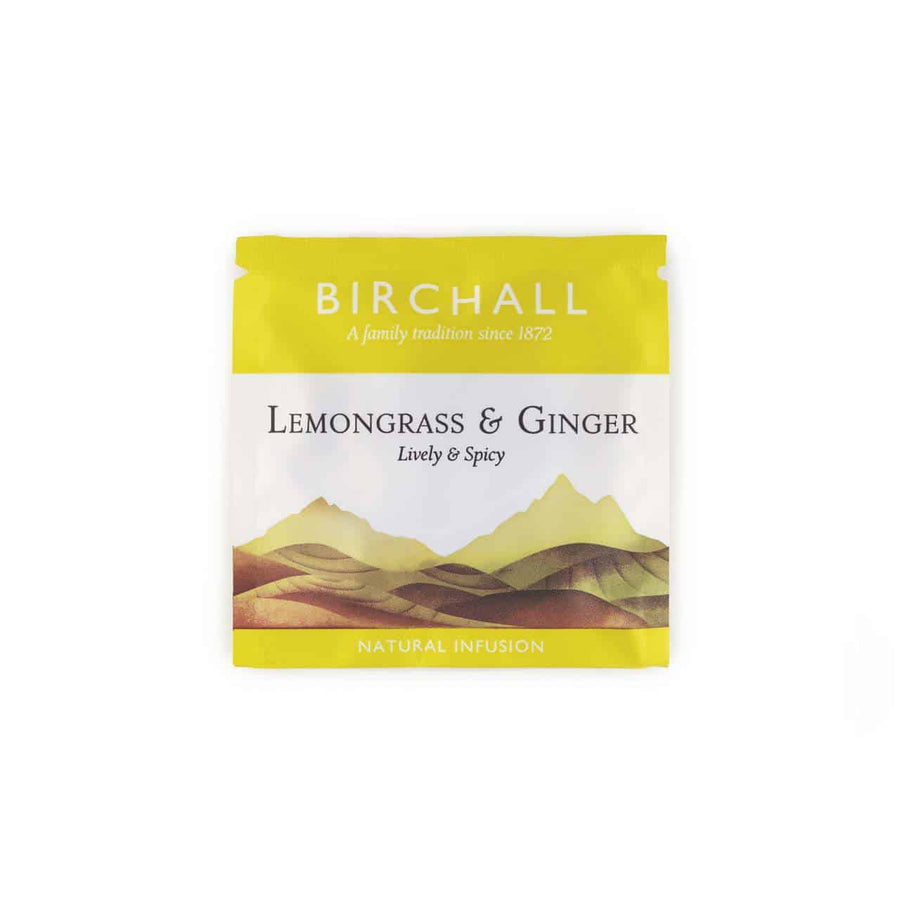Birchall Tea in Enveloped Prism Bags 200pcs - Lemongrass & Ginger
