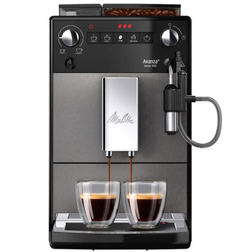 Melitta Avanza Bean to Cup Coffee Machine - Black Graphite