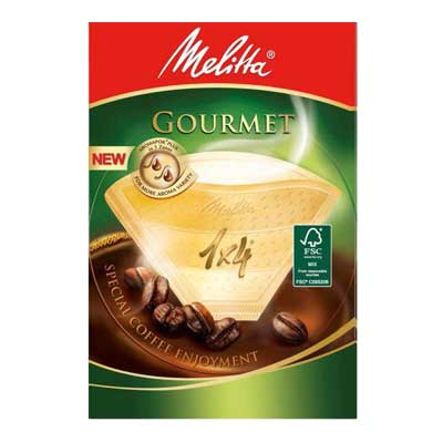 Melitta Gourmet Coffee Paper Cone Filters 1 x 4 (80pcs)