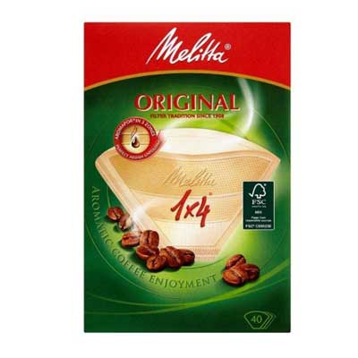 Melitta Original Coffee Paper Filters 1 x 4 (40 pcs)