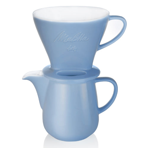 Melitta Porcelain Pour Over Set - Blue