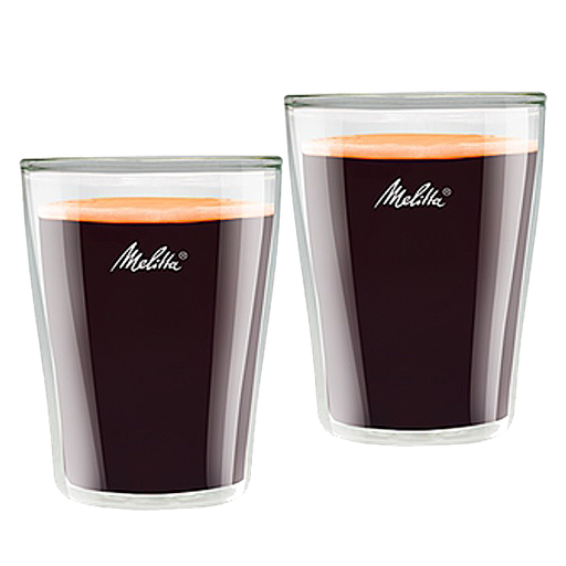 Melitta Coffee Glasses Double Walled Set of 2 pcs, 0.20L