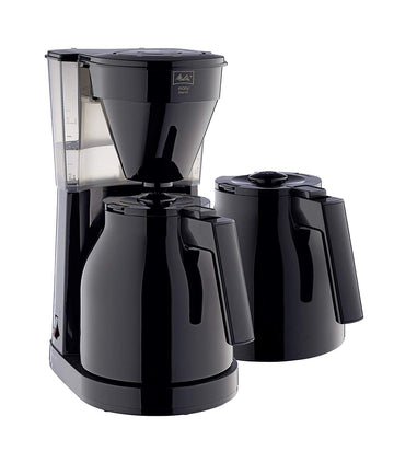 Melitta Easy Therm II Filter Coffee Machine with Extra Jug - Black