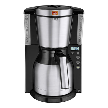 Melitta Look IV Therm Timer Filter Coffee Machine (Black)