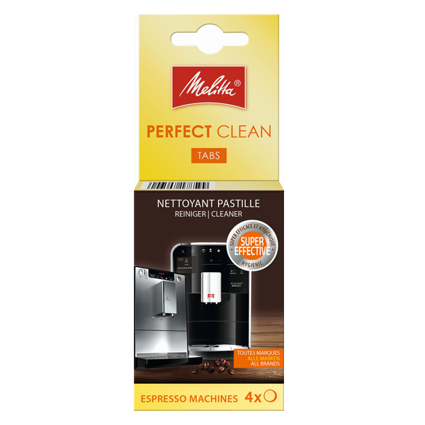 Melitta Perfect Clean Espresso Machine Cleaning Tablets 4 X 18g