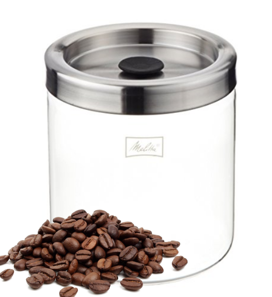 Melitta Airtight Coffee Storage Jar Canister