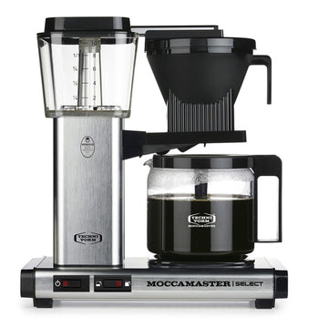Moccamaster KBG Select Filter Coffee Machine 53810 - Brushed