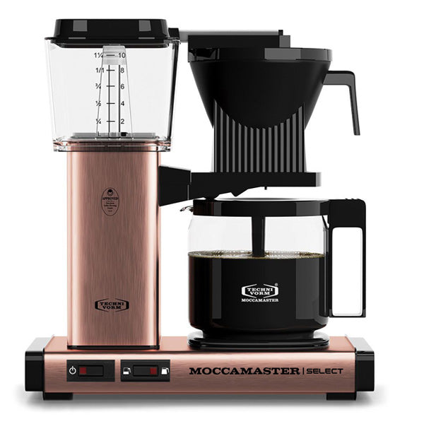 Moccamaster KBG Select Filter Coffee Machine 53802 - Copper