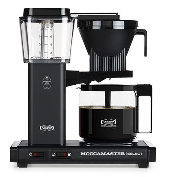 Moccamaster KBG Select Filter Coffee Machine 53814 - Matt Black