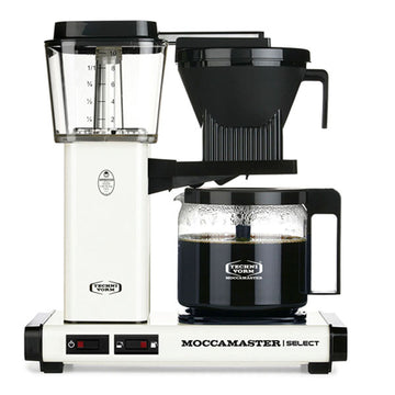 Moccamaster KBG Select Filter Coffee Machine 53805 - Off White