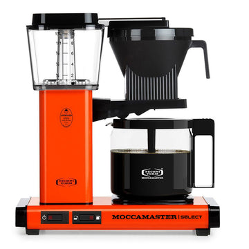 Moccamaster KBG Select Filter Coffee Machine 53817 - Orange