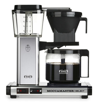 Moccamaster KBG Select Filter Coffee Machine 53801 - Polished Silver