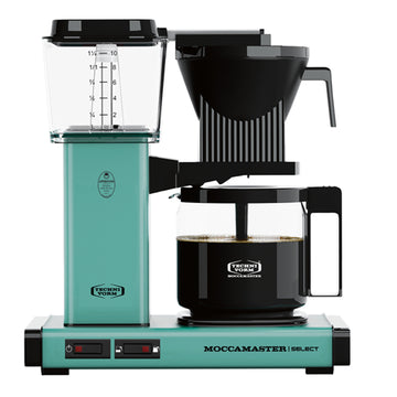 Moccamaster KBG Select Filter Coffee Machine 53812 - Turquoise