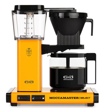 Moccamaster KBG Select Filter Coffee Machine 53815 - Yellow Pepper