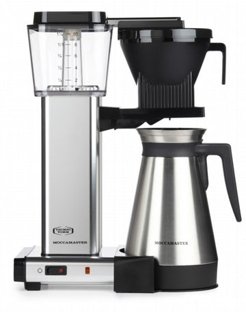 Moccamaster KBGT 741 Filter Coffee Machine - Polished Silver