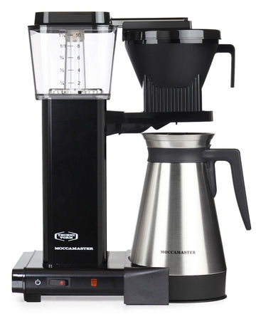 Moccamaster KBGT 741 Filter Coffee Machine - Black