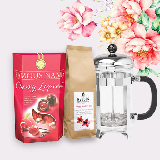 Coffee, Cafetiere & Chocolates