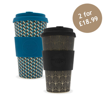 Ecoffee Cup Reusable Bamboo Travel Cup 0.45l / 16 oz. - Nathan Road & Grand Rex