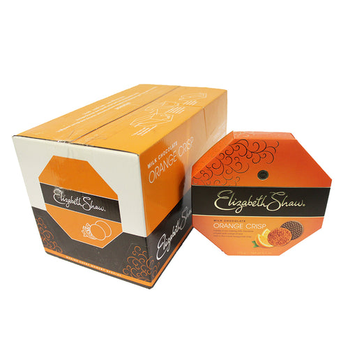 Elizabeth Shaw Orange Crisp Chocolates - Case of 8