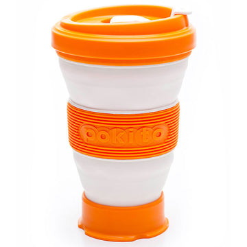 Pokito Collapsible Travel Mug - Pumpkin