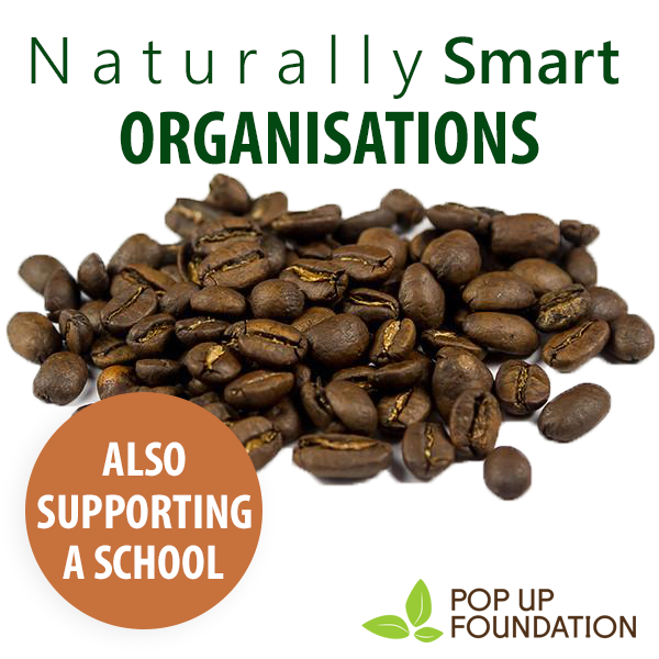 Naturally Smart Coffee - Workplace & Support a School