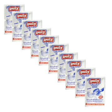 Puly Caff Espresso Machine Group Head Cleaning Powder (10 x 20g sachets)