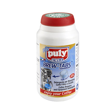 Puly Caff  Brew Tabs - Filter Coffee Machine Cleaning Tablets 4g x 120 Tablets