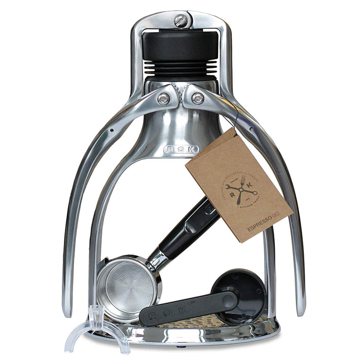 ROK EspressoGC - Espresso Coffee Maker with Free 3 Month Coffee Subscription