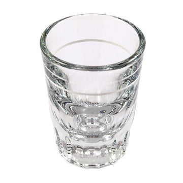 Barista Shot Glass 2oz lined to 1oz.