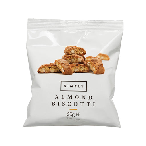 Case of Simply Almond Biscotti 50g - 30pcs