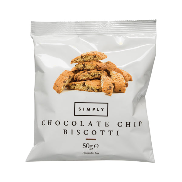 Case of Simply Chocolate Biscotti 50g - 30pcs