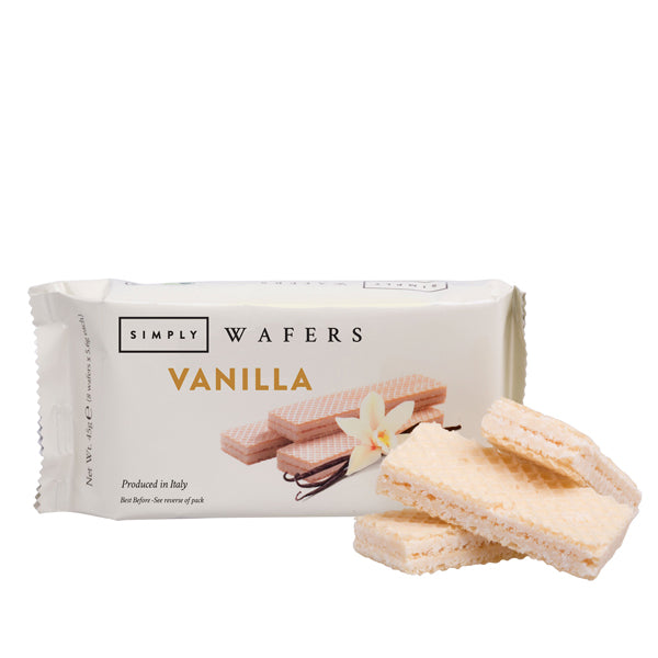 Case of Simply Vanilla Wafers 45g - 20pcs
