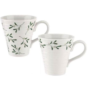 Sophie Conran - Mistletoe Mugs Set of 2