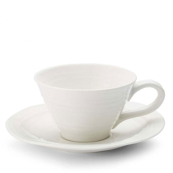 Sophie Conran Tea Cup & Saucer - White