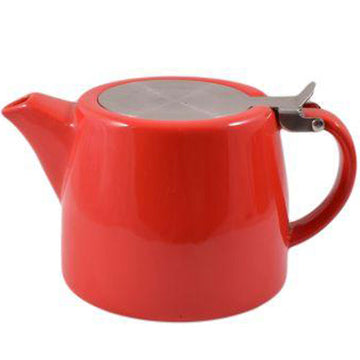 Stackable Teapot 18oz - Red