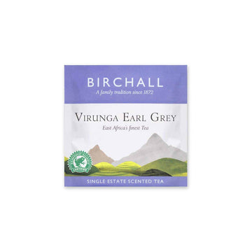 Birchall Tea in Enveloped Prism Bags 200pcs - Virunga Earl Grey (RFA Certified)